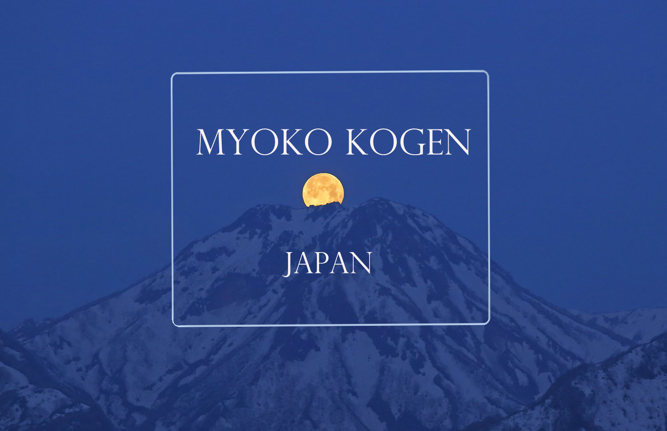 Myoko Kogen Japan